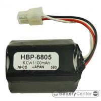 HBP-6805 barcode printer 6.0 volt 1100 mAh battery