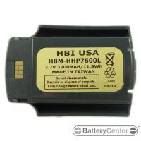 HBM-HHP7600L barcode scanner 3.7 volt 3200 mAh battery