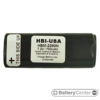 HBM-2280N barcode scanner 7.2 volt 700 mAh battery