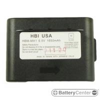 HBM-MX1 barcode scanner 6.0 volt 1650 mAh battery