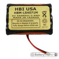 HBM-LS4071M barcode scanner 6 volt 650 mAh battery