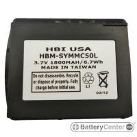 HBM-SYMMC50L barcode scanner 1 volt 1800 mAh battery