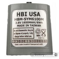 HBM-SYM6100M barcode scanner 3.6 volt 1650 mAh battery