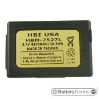 HBM-7527L barcode scanner 3.7 volt 4400 mAh battery