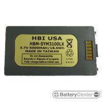HBM-SYM3100LX barcode scanner 3.7 volt 5000 mAh battery
