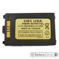 HBM-SYM75L barcode scanner 3.7 volt 3600 mAh battery