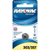 357 Silver Oxide Coin Cell Rayovac Battery