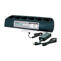 Endura 6 berth base charger for two way radio batteries - BC-TWC6M