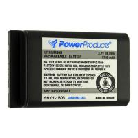 Li-Ion 3.6 volt 1880 mAh Two Way Radio Battery for Motorola - BC-BP53964LI