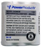 NiCd 7.5 volt 600 mAh Two Way Radio Battery for Motorola - BC-BP9044