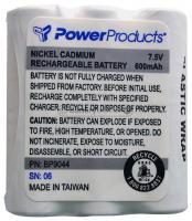 NiCd 7.5 volt 600 mAh Two Way Radio Battery for Motorola - BC-BP9044