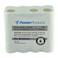 NiMH 9.6 volt 1650 mAh Two Way Radio Battery for Ritron - BC-BPX8NMH