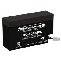BC-1208WL 12 Volt 0.8 Ah SLA Battery