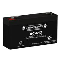 BC-612 6 Volt 1.4Ah SLA Battery