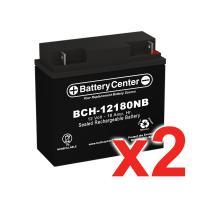 12v 18Ah SLA (sealed lead acid) High Rate Battery Set of Two