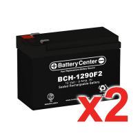 12v 9Ah SLA (sealed lead acid) High Rate Battery Set of Two