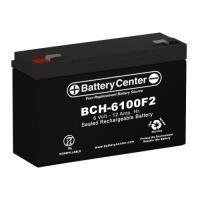 6v 12Ah High Rate SLA (sealed lead acid) Battery