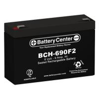 6v 9Ah High-Rate SLA (sealed lead acid) Battery