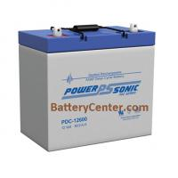 PDC-12600 Deep Cycle SLA Battery