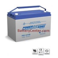 PDC-121100 12V 107AH Deep Cycle SLA Battery
