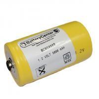 BCN5000B 5000 mAh Nickel Cadmium Button Top Battery