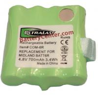BC-BATT-6R NiMH 4.8V Replacement Telephone Battery