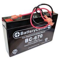 BC-670WLFC SLA Battery