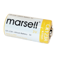 CR123A marsell Lithium Battery